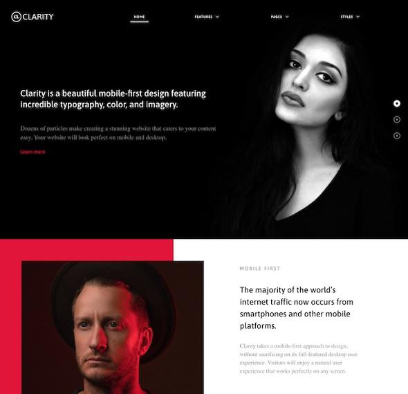 RocketTheme Clarity - Download Portfolio Joomla Template