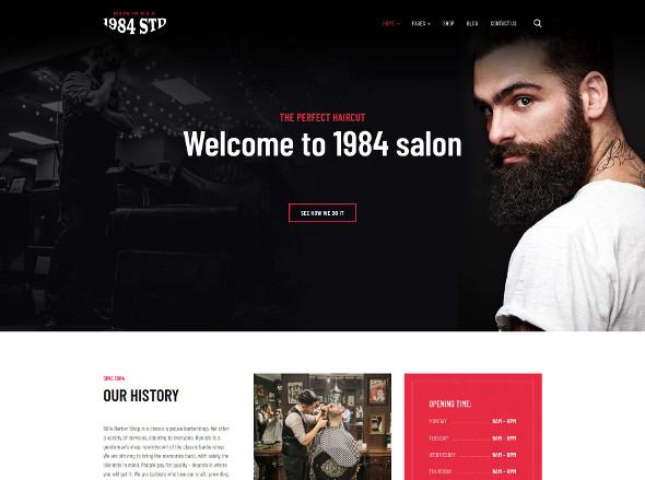 JA Beauty Salon - Download Barber Joomla Template