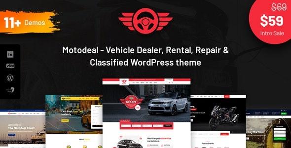 ThemeForest Motodeal - Download Car Dealer WordPress Theme