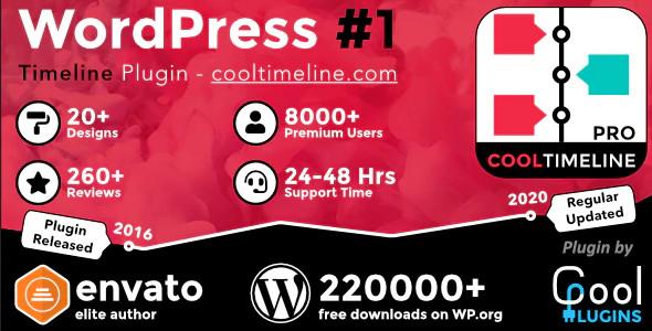 CodeCanyon Cool Timeline Pro - Download WordPress Timeline Plugin