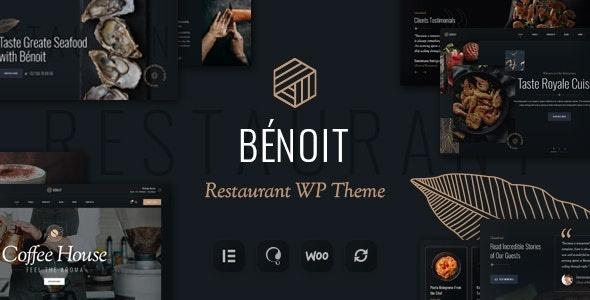 ThemeForest Benoit - Download Restaurants & Cafes WordPress Theme