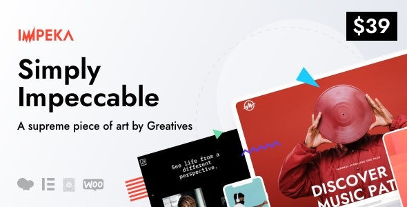 ThemeForest Impeka - Download Creative Multi-Purpose WordPress Theme