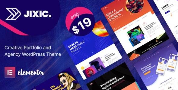 ThemeForest Jixic - Download Creative Portfolio & Agency WordPress Theme