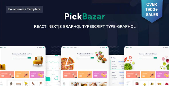 ThemeForest PickBazar - Download React Ecommerce Template with Next JS, GraphQL, React Hooks & REST API