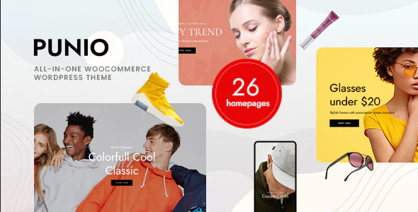 ThemeForest Punio - Download All-in-one WooCommerce WordPress Theme