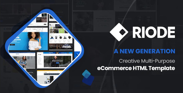 ThemeForest Riode - Download Ultimate eCommerce HTML Template