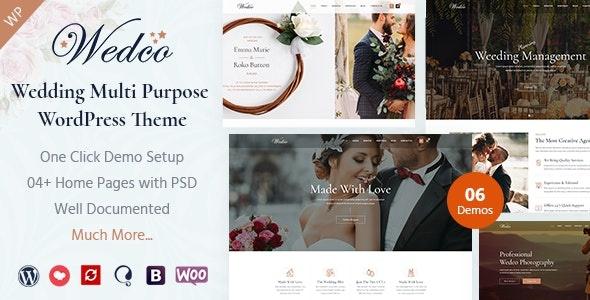 ThemeForest WedCo - Download Wedding WordPress Theme
