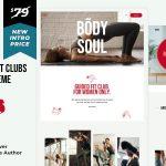 ThemeForest Ativo - Download Yoga Pilates WordPress Theme