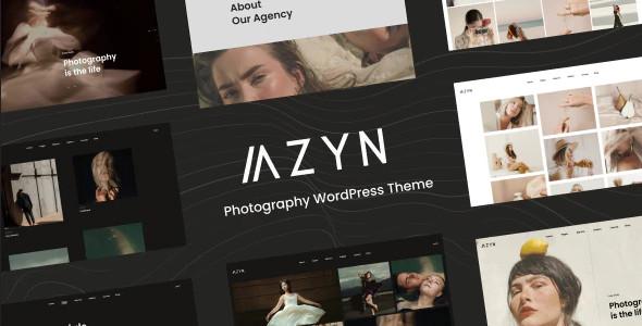 ThemeForest AZYN - Download Photography WordPress Theme