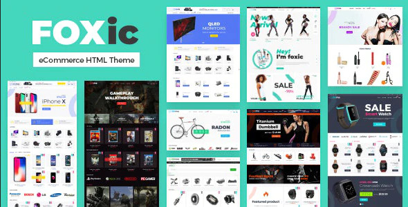 ThemeForest Foxic - Download eCommerce HTML Template