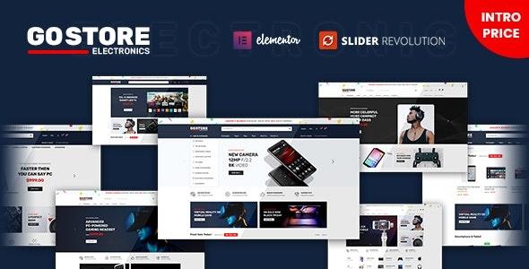 ThemeForest GoStore - Download Elementor WooCommerce WordPress Theme