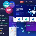 ThemeForest ICO Crypto - Download Bitcoin and Cryptocurrency ICO Landing Page HTML Template + User Dashboard