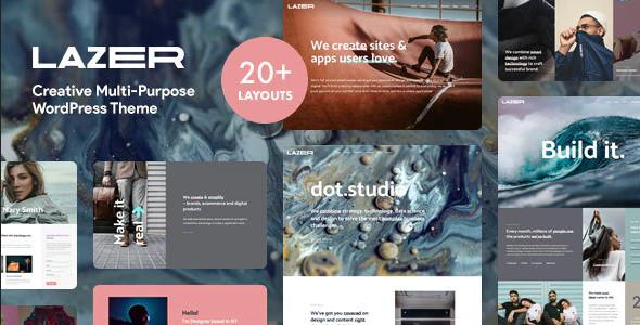 ThemeForest Lazer - Download Creative Multi-Purpose WordPress Theme