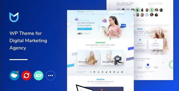 ThemeForest NanoText - Download Digital Marketing WordPress Theme