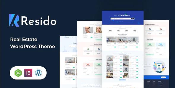 ThemeForest Resido - Download Real Estate WordPress Theme