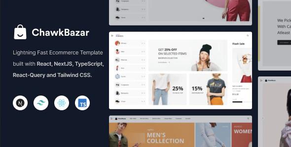ThemeForest ChawkBazar - Download React Next Lifestyle Ecommerce Template