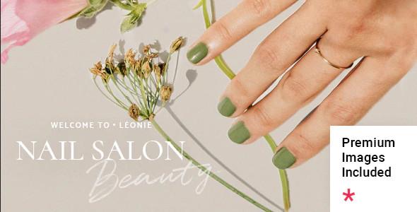 ThemeForest Léonie - Download Nail and Beauty Salon WordPress Theme