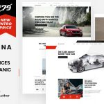ThemeForest Macchina - Download Auto Repair Car Mechanic WordPress Theme