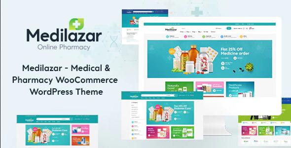 ThemeForest Medilazar - Download Pharmacy Medical WooCommerce WordPress Theme