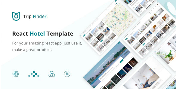 ThemeForest TripFinder - Download React Hotel Listing Template