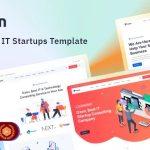ThemeForest Ozen - Download React Next.js IT Startup Template